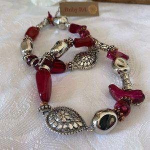 🆕Ruby Rd Beaded Bracelets